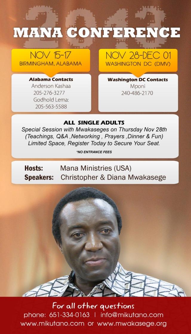 2013- mwakasege conference-USA